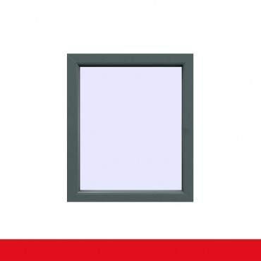 Festverglasung Fenster Basaltgrau beidseitig 1 flg. Fest im Rahmen ? Bild 1