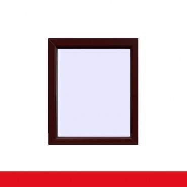 Festverglasung Fenster Braun Maron beidseitig  1 flg. Fest im Rahmen ? Bild 1