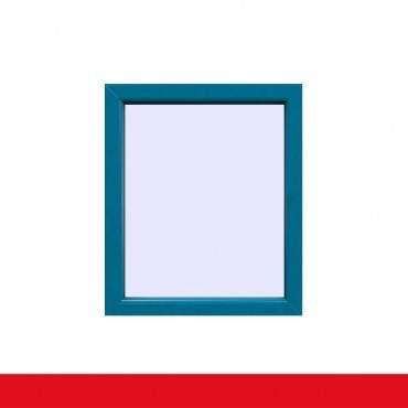 Festverglasung Fenster Brillantblau beidseitig  1 flg. Fest im Rahmen ? Bild 1