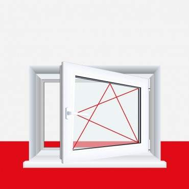 Kellerfenster Basaltgrau Glatt 4 Sicherheitspilzzapfen abschließbarer Griff / Dreh/Kipp ? Bild 3