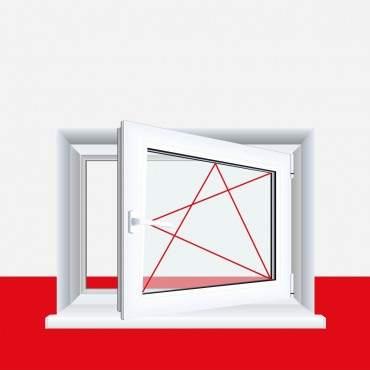 Kellerfenster Cremeweiß 4 Sicherheitspilzzapfen abschließbarer Griff / Dreh/Kipp ? Bild 4