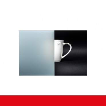 Pfostenfenster Milchglas Weiß 2flg. Kunststofffenster mit Pfosten ? Bild 3
