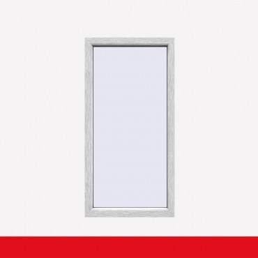 Balkonfenster Aluminium Gebürstet (beidseitig) Festverglasung Fenster Fest im Rahmen ? Bild 1