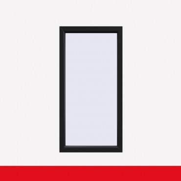 Balkonfenster Anthrazitgrau Glatt (beidseitig) Festverglasung Fenster Fest im Rahmen ? Bild 1