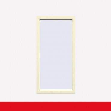 Balkonfenster Cremeweiß (beidseitig) Festverglasung Fenster Fest im Rahmen ? Bild 1