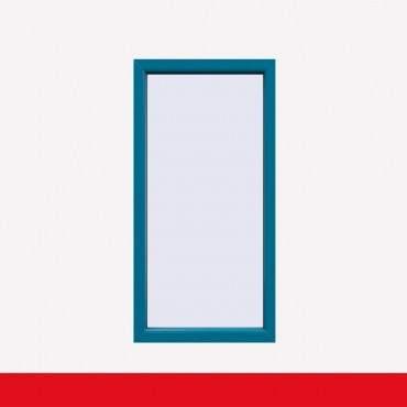 Balkonfenster Brillantblau (beidseitig) Festverglasung Fenster Fest im Rahmen ? Bild 1