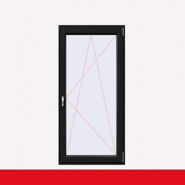 1 flügelige Balkontür Kunststoff Anthrazitgrau (beidseitig) Dreh-Kipp ? Bild 2