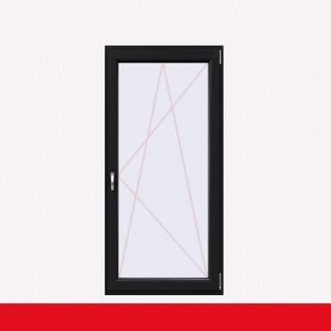 1 flügelige Balkontür Kunststoff Anthrazitgrau Glatt (beidseitig) Dreh-Kipp ? Bild 2
