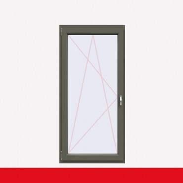 1 flügelige Balkontür Kunststoff Basaltgrau Glatt (beidseitig) Dreh-Kipp ? Bild 1