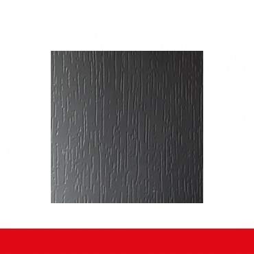 2-flüglige Balkontür Kunststoff Stulp Basaltgrau Glatt beidseitig ? Bild 4