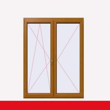 2-flüglige Balkontür Kunststoff Stulp Bergkiefer beidseitig ? Bild 1