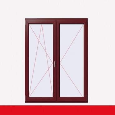 2-flüglige Balkontür Kunststoff Stulp Cardinal Platin beidseitig ? Bild 1