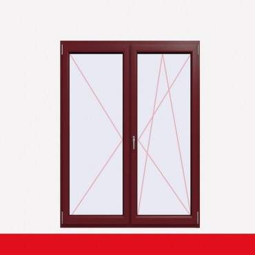 2-flüglige Balkontür Kunststoff Stulp Cardinal Platin beidseitig ? Bild 2