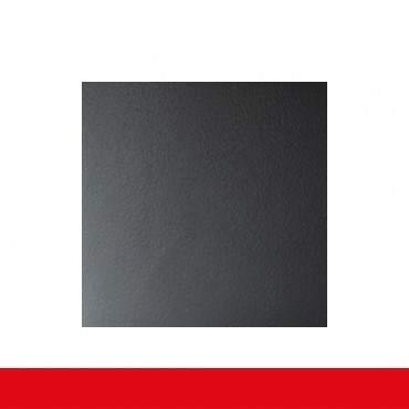 2-flüglige Balkontür Kunststoff Pfosten Basaltgrau Glatt beidseitig ? Bild 4