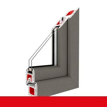 2-flüglige Balkontür Kunststoff Pfosten Betongrau beidseitig ? Bild 2