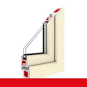 2-flüglige Balkontür Kunststoff Pfosten Cremeweiß beidseitig ? Bild 2