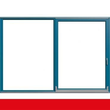 Parallel Schiebe Kipp Schiebetür PSK Kunststoff Brillantblau beidseitig ? Bild 1