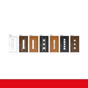 Haustür Weiß DRUTEX IGLO 5 Modell 1 - 1 flüglige Kunststoff Hauseingangstür ? Bild 3