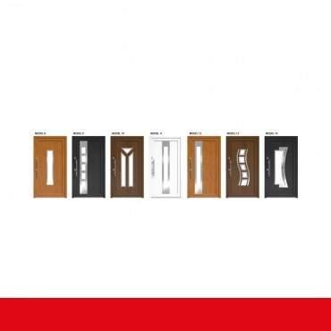 Haustür Weiß DRUTEX IGLO 5 Modell 1 - 1 flüglige Kunststoff Hauseingangstür ? Bild 4