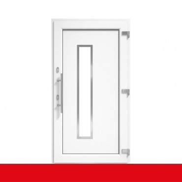 Haustür Weiß DRUTEX IGLO 5 Modell 1 - 1 flüglige Kunststoff Hauseingangstür ? Bild 2