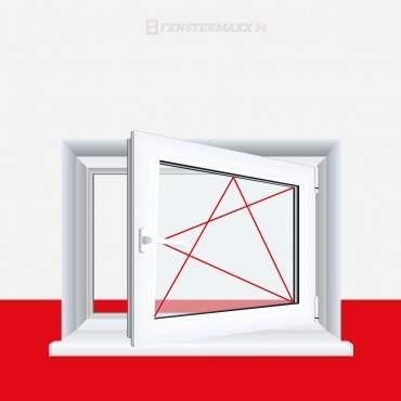 Kellerfenster Kunststoff Fenster Dreh Kipp Zwischen Größen + QUALITÄT ? Bild 1