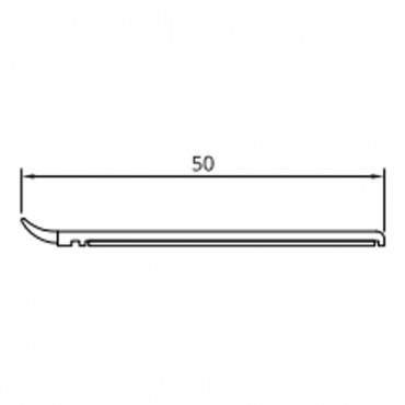 20mm-50mm Fensterleiste Abdeckleiste Flachleiste Kunststoffleiste Fensterleisten ? Bild 4