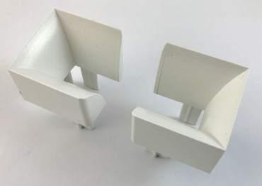 Drutex - Rollladen Einlauftrichter für Aluplast / Drutex Rollladenschienen PVC 620042 ? Bild 1