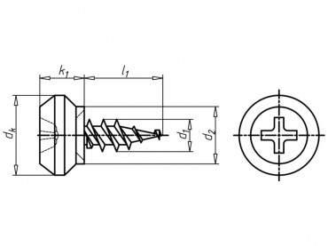 Würth - Nippelschraube für Rollladenführungsschienen - 4 x 10 ? Bild 2