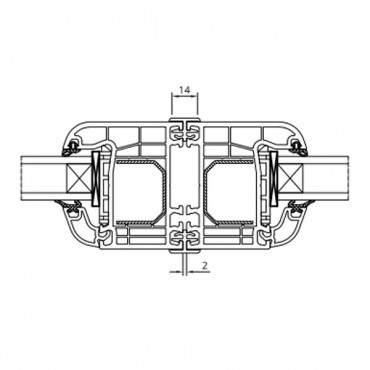 H-Kopplung 50110 für Drutex IGLO 5, IGLO 5 Classic, IGLO Light, IGLO Energy ? Bild 2