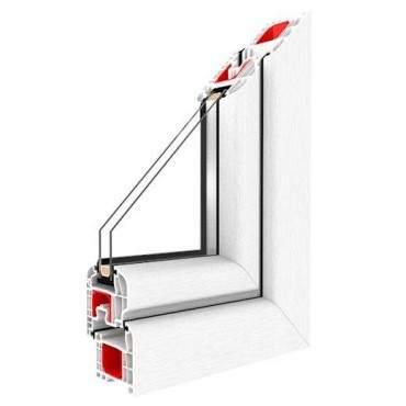 Kunststofffenster Drutex IGLO 5 Fenster 5-Kammer Dreh Kipp