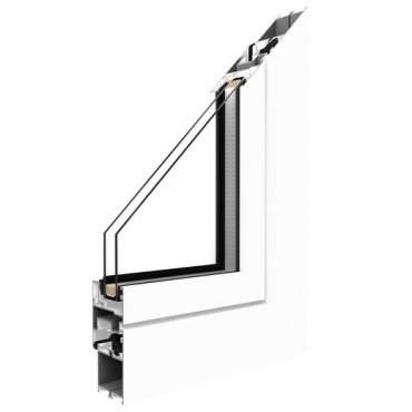 Aluminiumfenster Drutex ALU MB-45 Fenster Dreh Kipp Weiß ? Bild 1