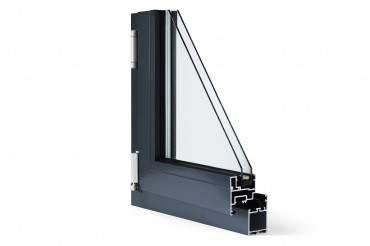 Aluminiumfenster Drutex ALU MB-45 Fenster RAL8019 Braun ? Bild 3