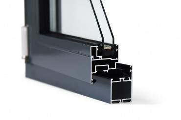 Aluminiumfenster Drutex ALU MB-45 Fenster RAL8019 Braun ? Bild 4