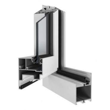 Aluminiumfenster Drutex ALU MB-45 Fenster RAL8019 Braun ? Bild 2