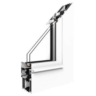 Aluminiumfenster Drutex ALU MB-70 Fenster Dreh Kipp Weiß ? Bild 1