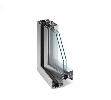 Aluminiumfenster Drutex ALU MB-70 Fenster RAL8019 Braun ? Bild 2
