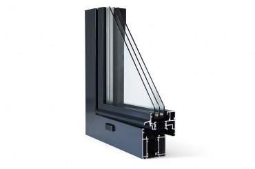 Aluminiumfenster Drutex ALU MB-70 Fenster RAL8019 Braun ? Bild 4