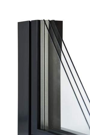 Aluminiumfenster Drutex ALU MB-70 Fenster RAL8019 Braun ? Bild 6