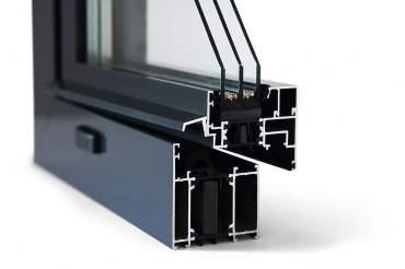 Aluminiumfenster Drutex ALU MB-70HI Fenster RAL8019 Braun ? Bild 4