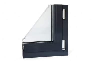 Aluminiumfenster Drutex ALU MB-70HI Fenster RAL8019 Braun ? Bild 7