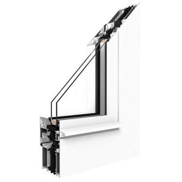 Aluminiumfenster Drutex ALU MB-70HI Fenster RAL8019 Braun ? Bild 1