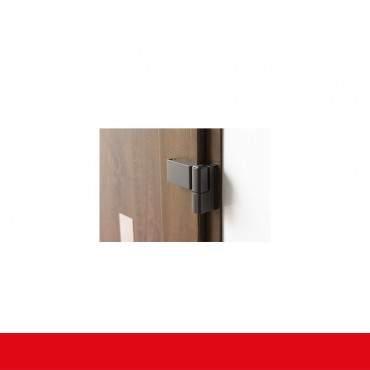 Restposten Haustür Mahagoni beidseitig mit Glas und PVC Füllung 2 fach Verglasung ? Bild 3