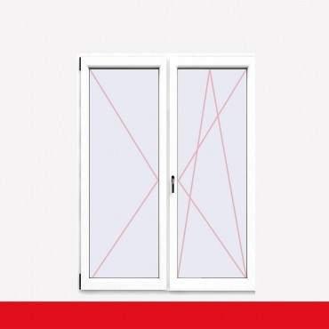 Restposten 2flg. Balkontür Stulp DL/DKR 2200 x 1900mm 3-fach Glas Weiß ? Bild 1