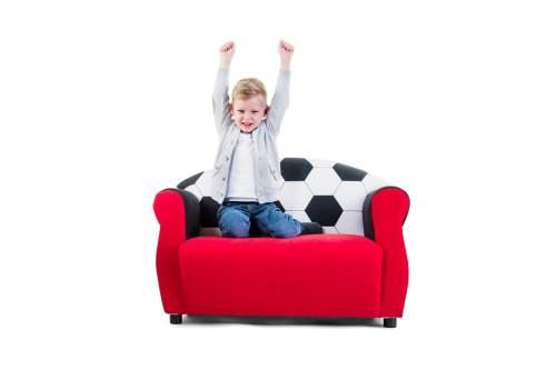 Kindersofa für Fußball-Fans