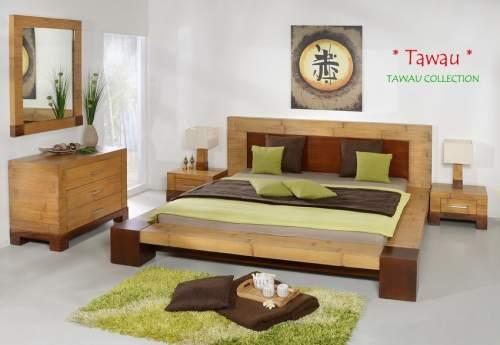 Bambus Bettrahmen TAWAU