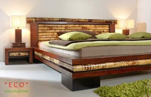 Luxus Wasserbett inkl. Bambusbett Eco