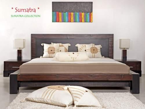 Classic Wasserbett inkl. Bambusbett Sumatra