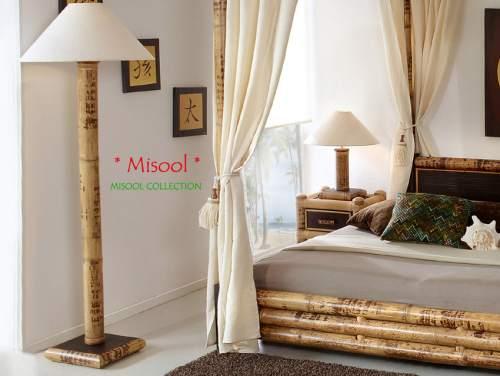 Bambus Stehlampe Misool
