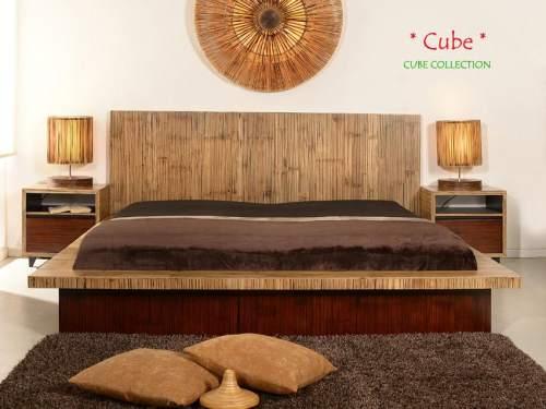 Bambus-Möbel Schlafzimmer Kollektion Cube