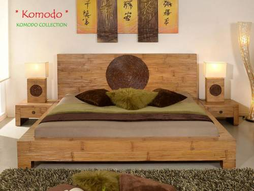 Bambus-Möbel Schlafzimmer Kollektion Komodo
